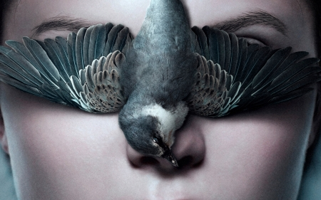 Thelma (2017) - wings, movie, woman, face, thelma, poster, feather, bird, pasare