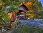 Covered Bridge in Frederick, Maryland