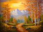 Painting autumn