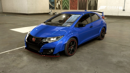 HONDA Civic Type R '2016 - 16, Microsoft, GAME, Xbox, Type R, Forza Motorsport 7, Turn 10, 1920x1080, HONDA, Xbox One, Forza Motorsport, Fuorutsua Motasupotsu 7, Microsoft Studios, Civic, Racing, PC, 2016