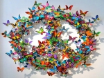 Butterflies of peace