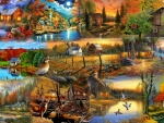 Country Fall Collage