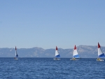Sailboats in Lake Tahoe