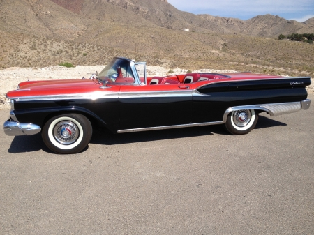 1959 Ford Galaxie Skyliner Convertible 352ci V8 3-Speed Automatic