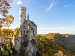 Castle Liechtenstein at Fall