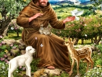 St.Francis and the Animals