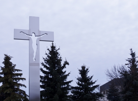 Cross Of Steel - Steel, Religious, Sky, Photography, Architecture, Cross