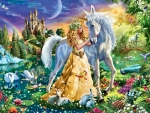 Princess and Unicorn