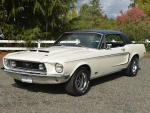 1968 Ford Mustang 2-Door Hardtop 302ci V8 C4 Automatic J-Code