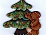 Gingerbread Man And Tree