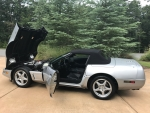 1996 Chevrolet Corvette Convertible 5.7 LT4 V8 6-Speed Collector Edition