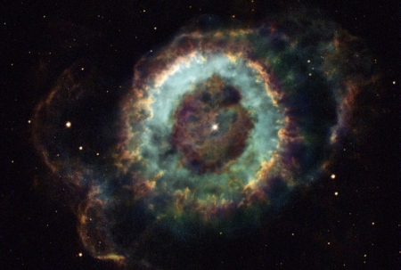 NGC 6369 The Little Ghost Nebula - space, cool, stars, galaxies, fun