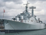 WORLD OF WARSHIPS HMS KENT COUNTY CLASS GUIDED MISSILE DESTROYER D 12