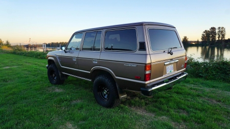 1987 Toyota Land Cruiser FJ60 4.2 4-Speed