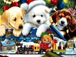 Curious Christmas Pups FC