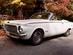 1963 Plymouth Valiant Convertible 225ci 3-Speed Automatic