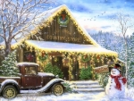 Snowy Country Store