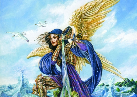Archangel Gabriel - Fantastic Creatures Wallpapers and ...