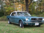 1966 Ford Mustang Convertible 289ci V8 4-Speed
