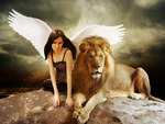 the angel and the lion