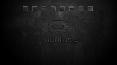 Oculus Black Edition Left Panel - gaming, vr, rift, black, Oculus