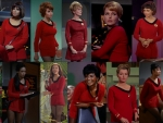 Original Star Trek Actresses That Wore Red and LIVED!!