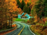 New Hampshire Road House, Autumn color