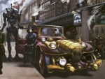 urban steampunk living
