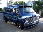 custom 70's dodge street van