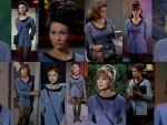 Original Star Trek Actresses That Wore Blue