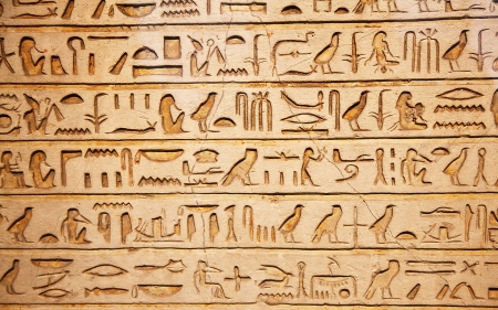 Hieroglyphics - ancient, Hieroglyphics, communication, symbols, egyptian