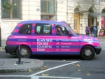 coloured taxi london