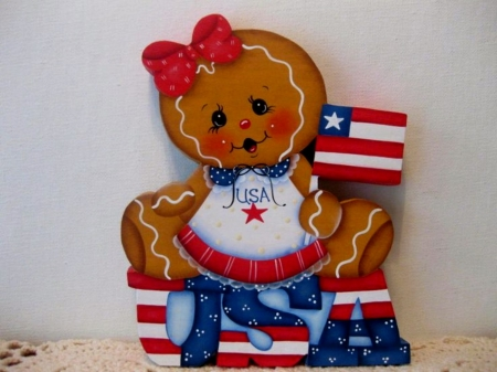 Gingerbread Flag