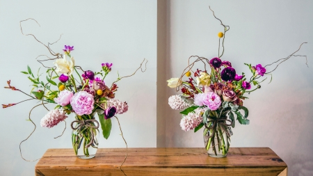 Flower Arrangements - love, floral, wide screen, photography, beautiful, beauty, photo, flower, romance