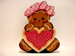 Gingerbread Girl Valentine