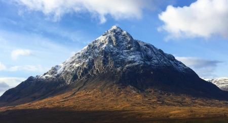 Buachaille Etive Mor - cool, Buachaille Etive, mountain, nature, fun
