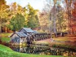 Mabry Mill at Fall