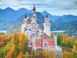 Neuschwanstein Castle,Germany