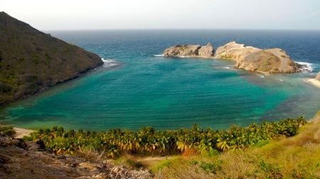 Caribbean Cove - Nature, Coves, Oceans, Sea