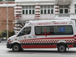 singapore central emergency ambulance