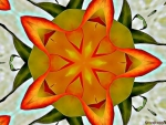 YELLOW ROSE KALEIDOSCOPE