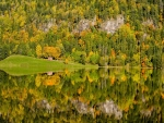 Autumn Reflection,Norway