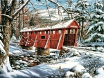 Sleepy Hollow Covered Bridge F