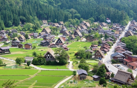 Shirakawa-Go - japanaese, shirakawa, village, scenery, unesco, japan, nature