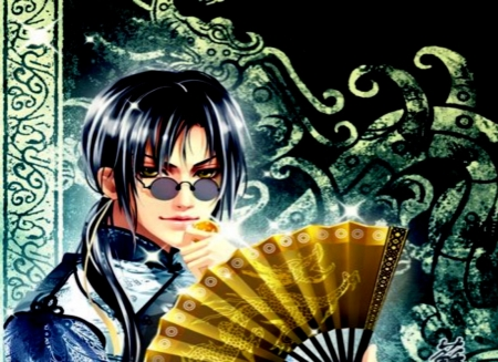 Hand Fan - Fan, Hand, Anime, Men