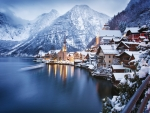 Hallstatt, Austria, In Winter