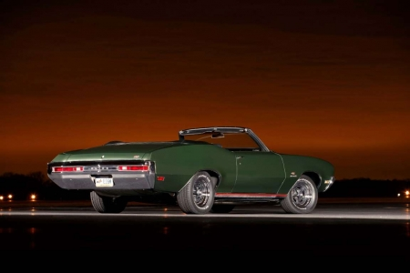 1970 Buick GS455 Stage 1 Four-Speed Convertible - Muscle, Green, Classic, Gm