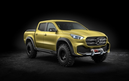 mercedes benz x class pick up concept