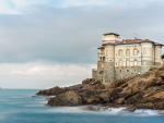 Boccale Castle on the Coast,Italy