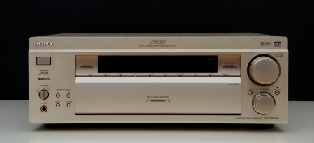 my good old SONY ES-RECEIVER - stereo, sony, amplifier, receiver